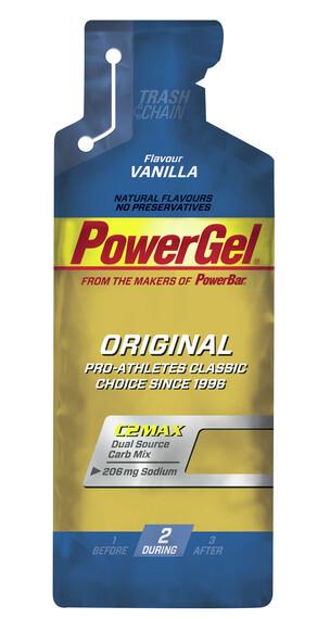 PowerBar PowerGel Original - Nutrición deportiva - Vanilla 41g beige/azul